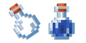 Minecraft Water Bottle Cursor