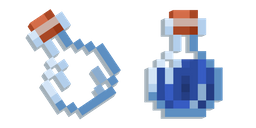 Minecraft Water Bottle Curseur