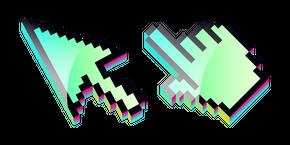 Курсор 3D Green Pixel
