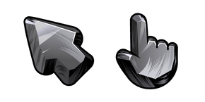 Materials Black Obsidian Cursor