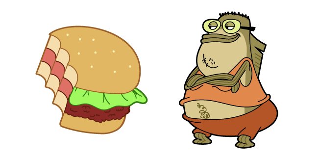SpongeBob Bubble Bass and Crab's Burger