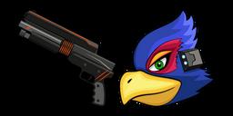 Star Fox Falco Lombardi and Blaster Curseur
