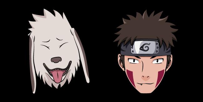 Naruto Kiba Inuzuka and Akamaru