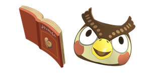 Animal Crossing Blathers Cursor
