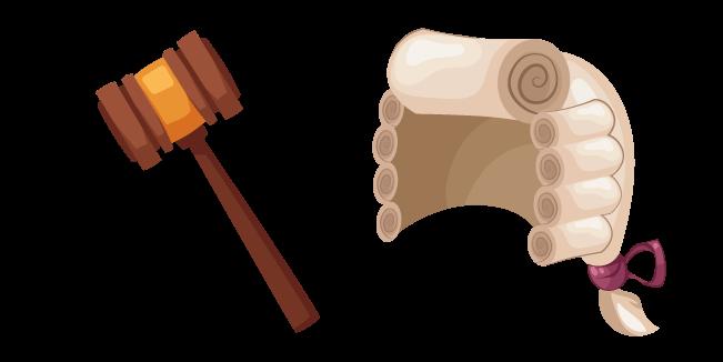 Судья: молоток и парик