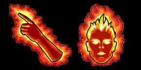 Human Torch Cursor
