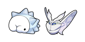 Pokemon Snom and Frosmoth Cursor