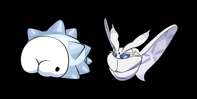 Pokemon Snom and Frosmoth