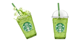 Starbucks Iced Matcha Green Tea Latte Cursor