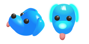 Roblox Adopt Me Blue Dog Cursor