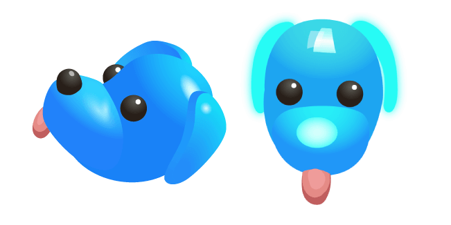 Roblox Adopt Me Blue Dog