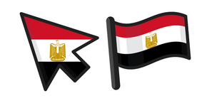 Egypt Flag Cursor