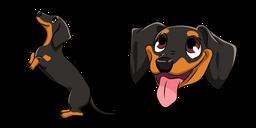 Dachshund Dog Cursor