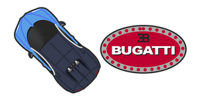 Bugatti Chiron Cursor