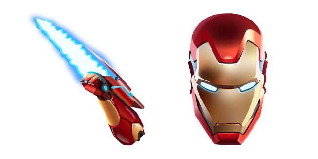 Fortnite Iron Man and Energy Blade