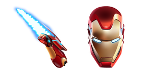 Fortnite Iron Man and Energy Blade Cursor