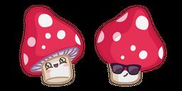 Cute Cool Mushroom Cursor