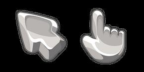 Materials Silver Cursor