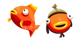 Tiko Fishstick and Orange Flopper