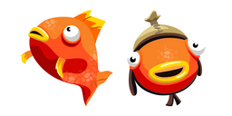 Tiko Fishstick and Orange Flopper Curseur