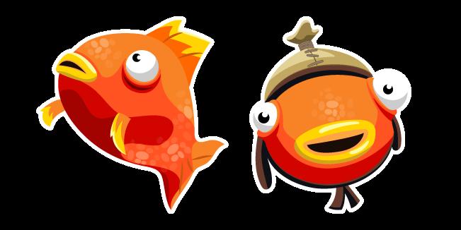 Tiko Fishstick And Orange Flopper Cursor Custom Cursor Browser Extension