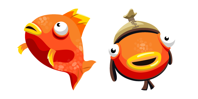 Tiko Fishstick and Orange Flopper