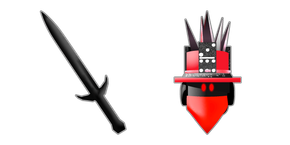 Roblox HomingBeacon and Darkheart Sword Curseur