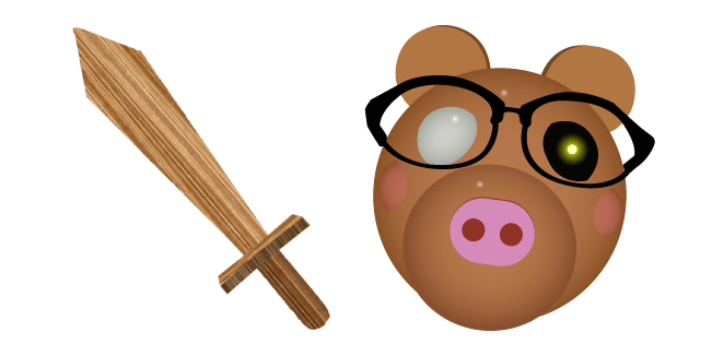 Roblox Piggy Пони