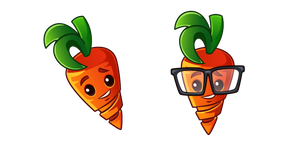 Plants vs. Zombies Intensive Carrot Cursor