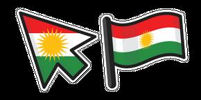 Курсор Флаг Курдистана