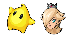 Super Mario Rosalina and Luma Curseur
