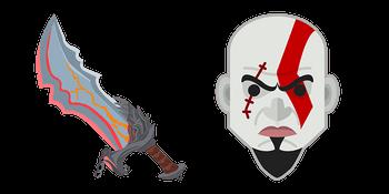God of War Kratos Blades of Chaos Curseur
