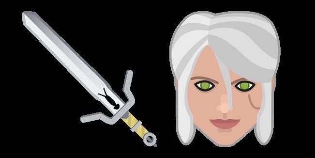 The Witcher Ciri Sword Zireael