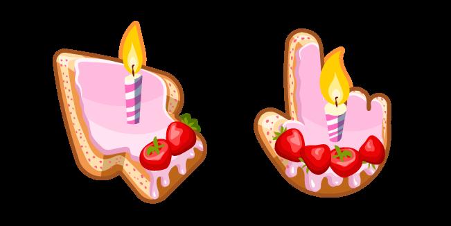 Materials Birthday Cake