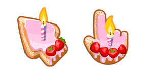 Materials Birthday Cake Cursor