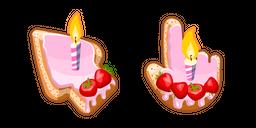 Materials Birthday Cake Cursor