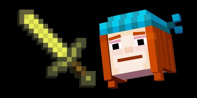Minecraft Story Mode Петра и Золотой меч