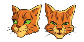 Warrior Cats Firestar Curseur