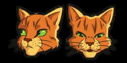 Warrior Cats Firestar Curseur