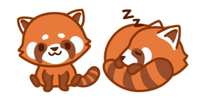 Cute Red Panda Cursor