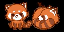 Cute Red Panda Curseur