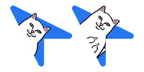 RipnDip Lord Nermal Blue Cursor