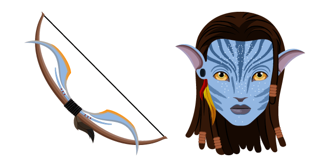 Avatar Neytiri and Bow