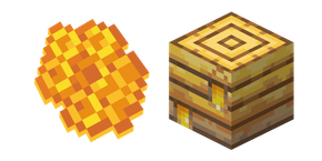 Minecraft Honeycomb and Bee Nest Curseur