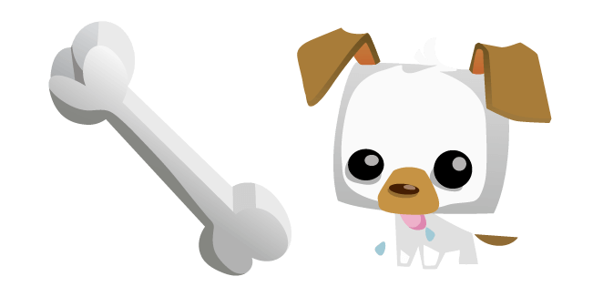 Animal Jam Pet Puppy and Bone