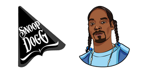 Snoop Dogg and Logo Cursor