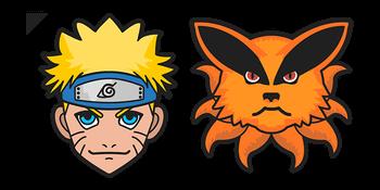 Naruto and Kurama Cursor