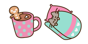 Sleepy Pusheen Cursor