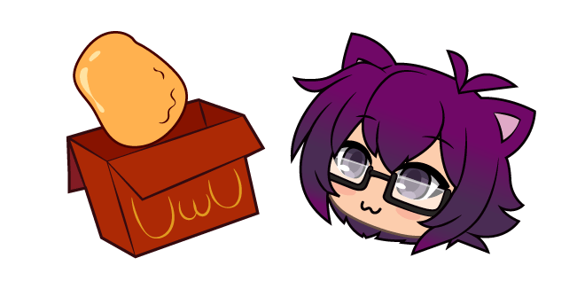 Gacha Life Bex and Chicken Nuggets