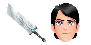 Курсор Trollhunters Tales of Arcadia Jim Lake Jr and Sword of Daylight